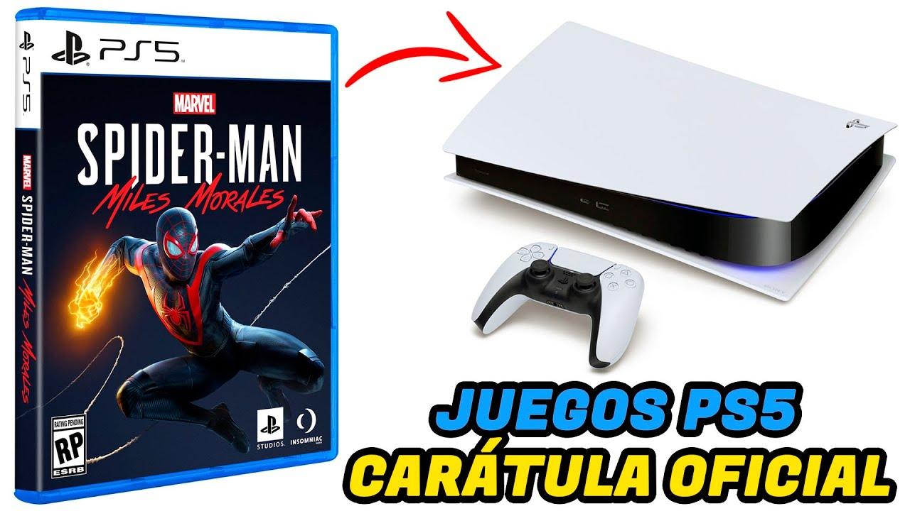 Así se ven los juegos de PS5 y Spider-Man Miles Morales
