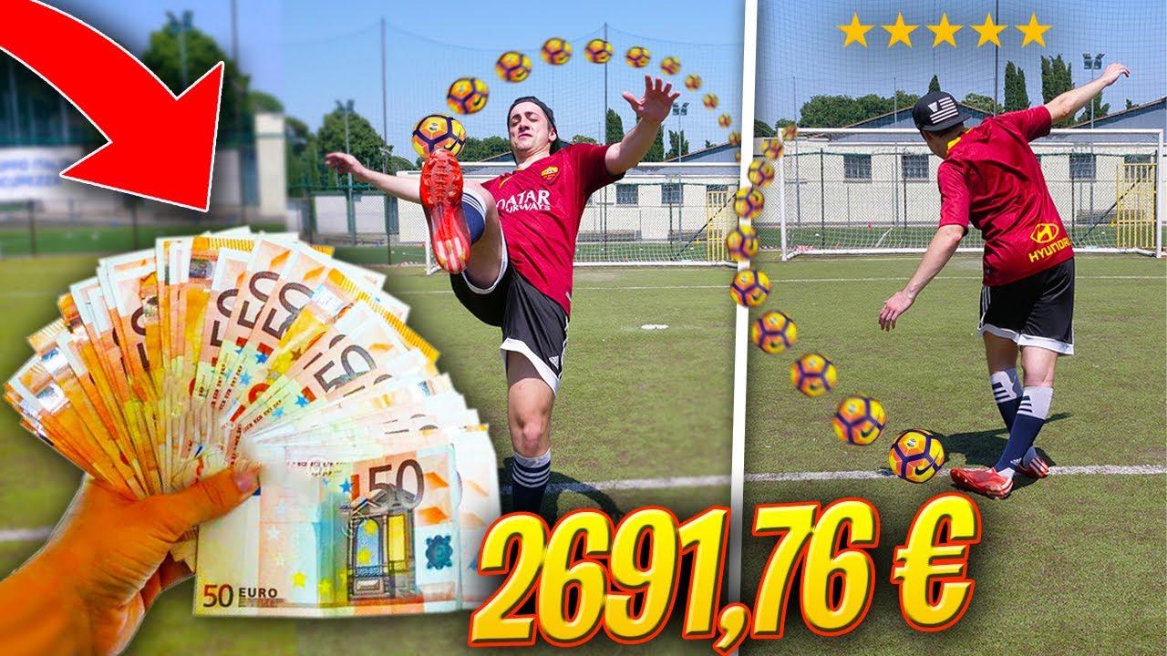 ⚽️💸 REGALO 50€ a SODIN per OGNI SFIDA CALCISTICA che SUPERA!!! *speso troppo*