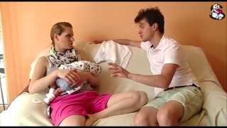 Repeat youtube video Co czuje mężczyzna przy porodzie i jak sobie go wyobraża?