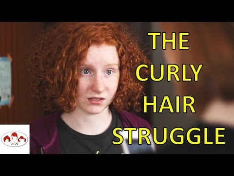 CURLY HAIR PROBLEMS... // 3 Ginger Sisters