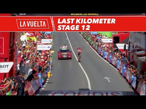Last kilometer - Stage 12 - La Vuelta 2017