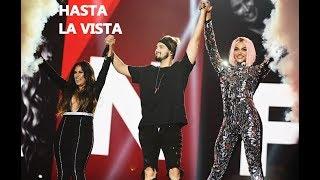 Pabllo Vittar, Luan Santana e Simone realizam primeira performance de Hasta La Vista   2018  