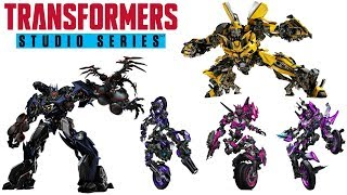 CONFIRMED Transformers Studio Series Soundwave, Arcee Sisters, & Bumblebee Thoughts/Analysis