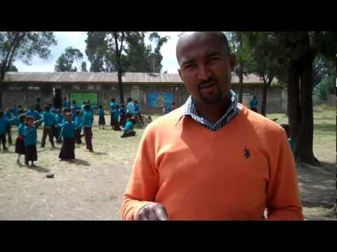 Kidsports Ethiopia: food and play for the enthusiastic kids of Biruh Tesfa school in Addis Abeba