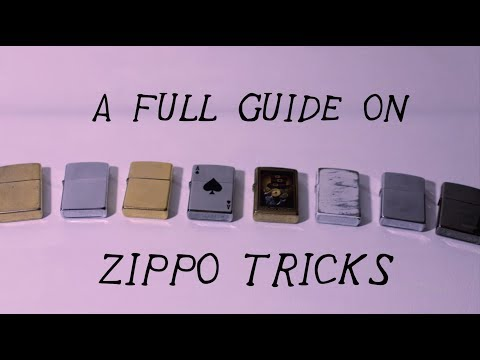 A (Better) Full Beginners Guide To Zippo Tricks