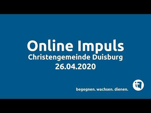 Online-Impuls // Christengemeinde Duisburg e.V. // 26.04.2020