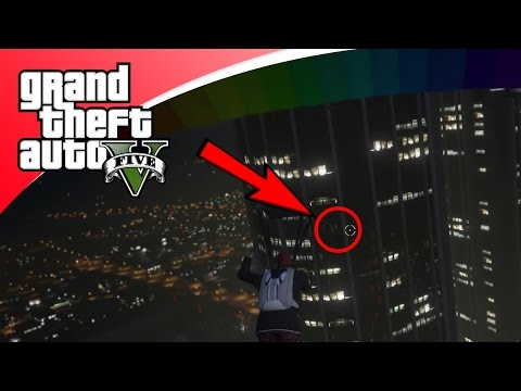 GTA V Freeroam - GEHEIME DOORGANG IN FLAT!? (GTA 5 Online)
