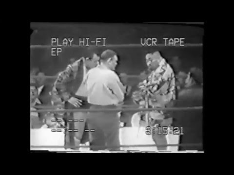 The Great Togo vs Zack Malkov 1950's 1960's professional wrestling