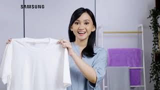 Samsung Indonesia: Nyuci Santai, Bersihnya Maksimal ya Mesin Cuci Twin Tub