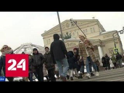 На столичные улицы возвращаются зебры - Россия 24
