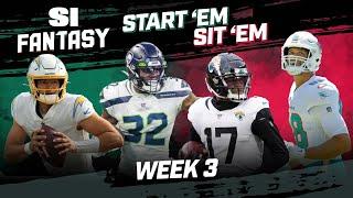 Week 3 Start 'Em, Sit 'Em: Set A Winning Fantasy Lineup!