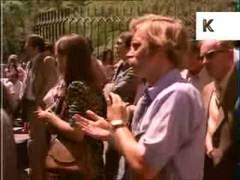 1970s San Francisco, Summer Street Scenes, 70s Fashion, Buskers, Archive Footage