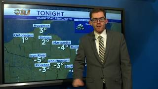 Upper Peninsula Weather Forecast - Feb. 19, 2020