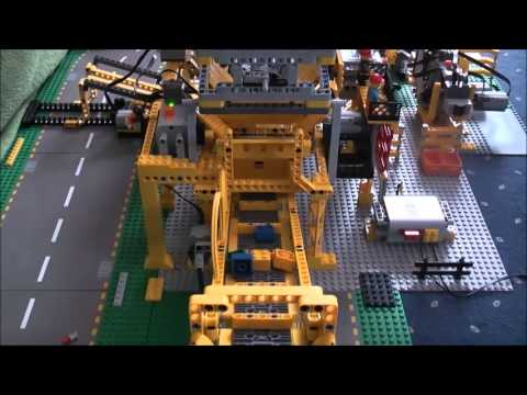 lego sortiermaschine 2 0 youtube. Black Bedroom Furniture Sets. Home Design Ideas