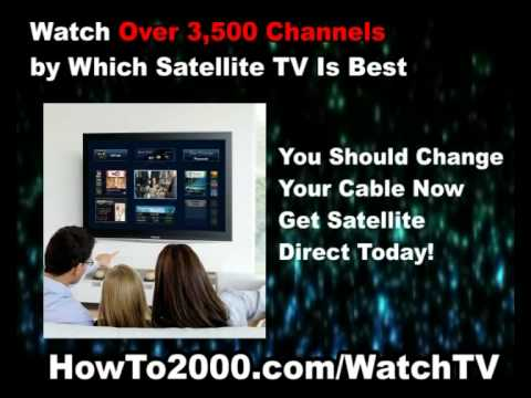 Which Satellite TV Is Best | Watch Over 3500 Channels!