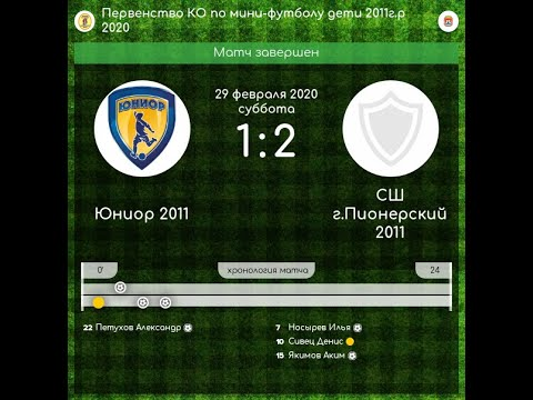 Первенство КО по мини-футболу среди детей 2011г.р.