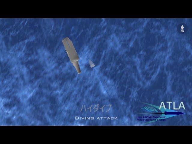 Japan's Hypervelocity Gliding Projectile HVGP Against Aircraft Carrier - 高速滑空弾