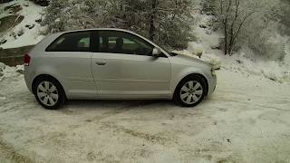 audi a3 8p quattro snow fun