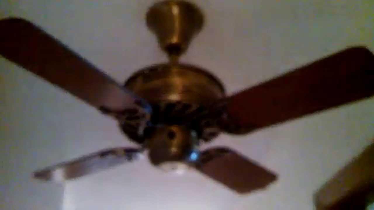 Oiling The Bearings Saint Louis Fan Company Ceiling Model 1905 You