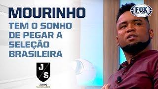 """""""O MOURINHO TEM O SONHO DE PEGAR A SELEÇÃO BRASILEIRA"""", Diz Carlos Alberto"""