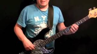 Learn How To Play Bass Guitar to I Want To Break Free - John Deacon - Queen