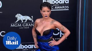 Halsey puts on busty display at the 2019 Billboard Music Awards