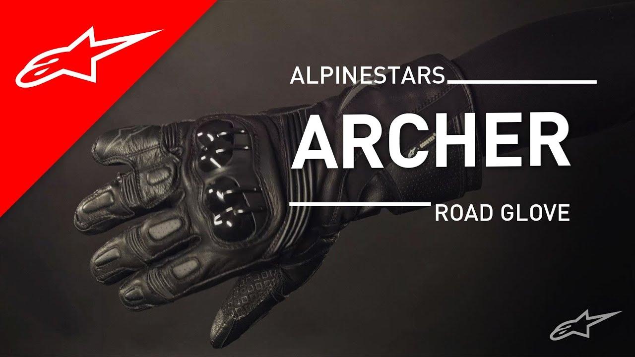 Xtrafit motorcycle gloves - Archer X Trafit Glove L Alpinestars