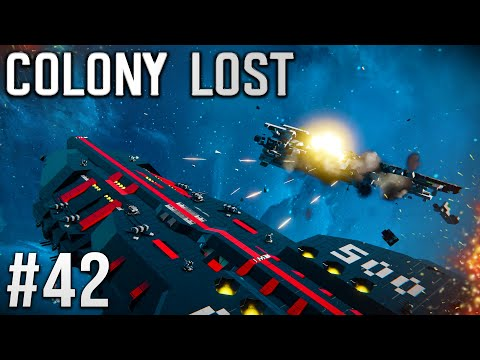 Space Engineers - Colony LOST! - Ep #42 - DRONE STARSHIPS!