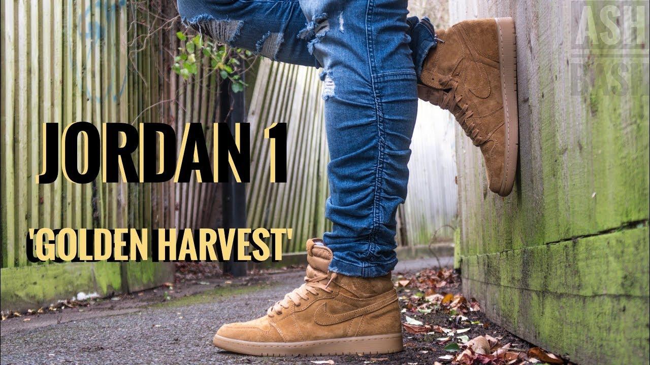3de30d11da15 Jordan 1  Golden Harvest  aka Wheat