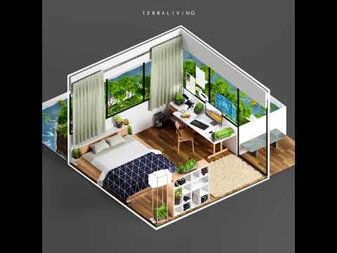 TerraLiving Isometric Concept Animation - Work From Home