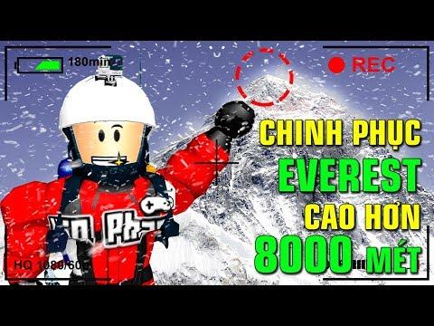 Roblox | KIA CHINH PHỤC ĐỈNH NÚI EVEREST CAO HƠN 8000 MÉT - Mount Everest Roleplay | KiA Phạm