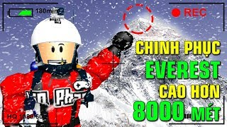 Roblox | KIA CONQUER MOUNT EVEREST HIGHER THAN 8000 METERS-Mount Everest Roleplay | KiA Pham