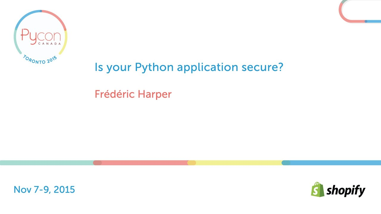 Image from Is your Python application secure?