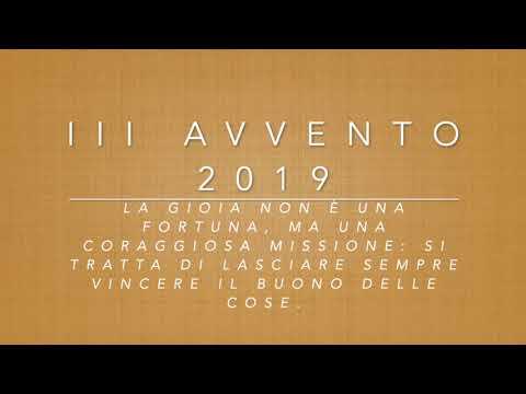 III Avvento 2019
