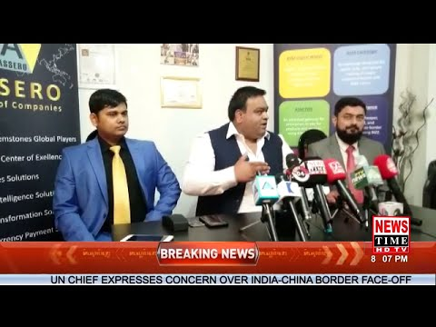 Assero Group Of Companies  | Dr. Usman | Blockchain | Cryptocurrency | News Time HD TV | Ansar Akram
