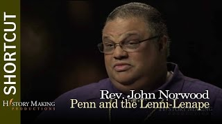 Rev. John Norwood on William Penn and the Lenni-Lenape