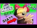 SIA AS A PONY! | Singing Songbird Serenade Toy from My Little Pony: The Movie
