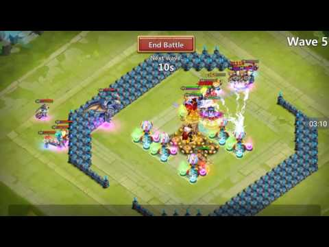 Castle Clash - CASTLE CRISIS!!! New Game Mode! ENDLESS HBM!