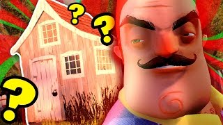 WHATS IN THE SHED!? \ Hello Neighbor
