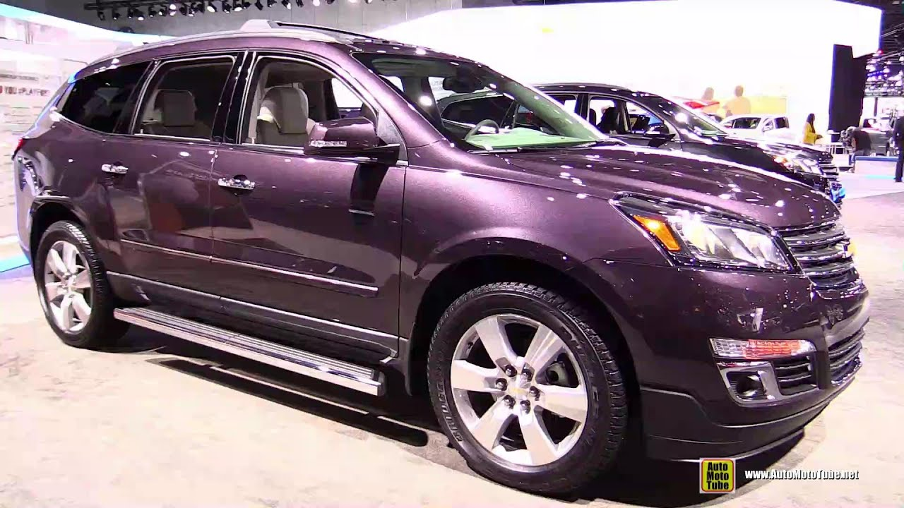 2015 Chevrolet Traverse Ltz Exterior And Interior
