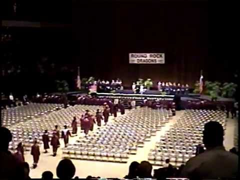 2001 Round Rock High School Grduation - Janice