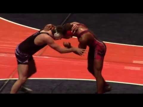 Harrison Williams vs Anton Krocko State Championships 2014