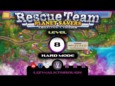 Rescue Team 11 - Level 8 Walkthrough (Planet Savers)  