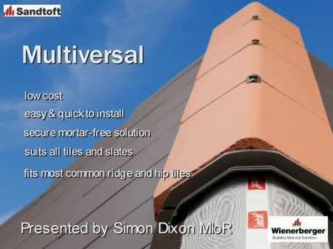 Wienerberger Uk Sandtoft Multiversal Installation Guide