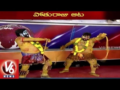 Special Story on Pothurajulu | Significance of Pothuraju in Bonalu Festival  - V6 News