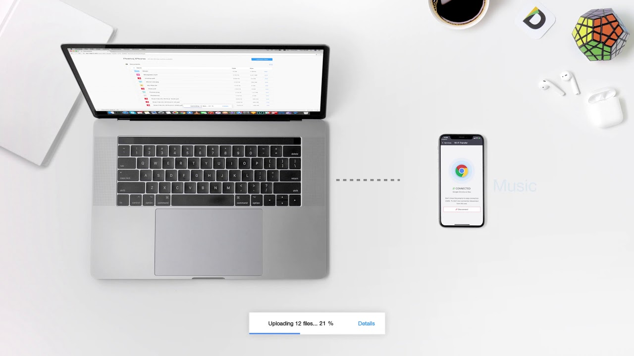 How to transfer files from iPhone or iPad to Mac and vice versa - Wi-Fi  Transfer