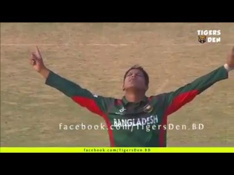 saifuddin awesome 3 wicket BAN vs South africa U-19