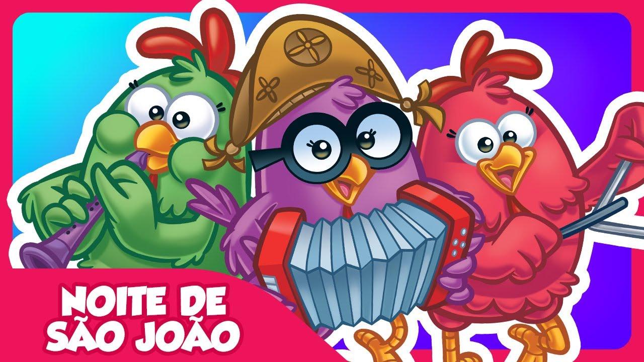 Noite De Sao Joao Festa Junina Da Galinha Pintadinha Dvd 4