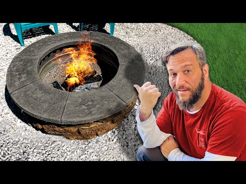 A DIY SMOKELESS Fire Pit That Actually Works!