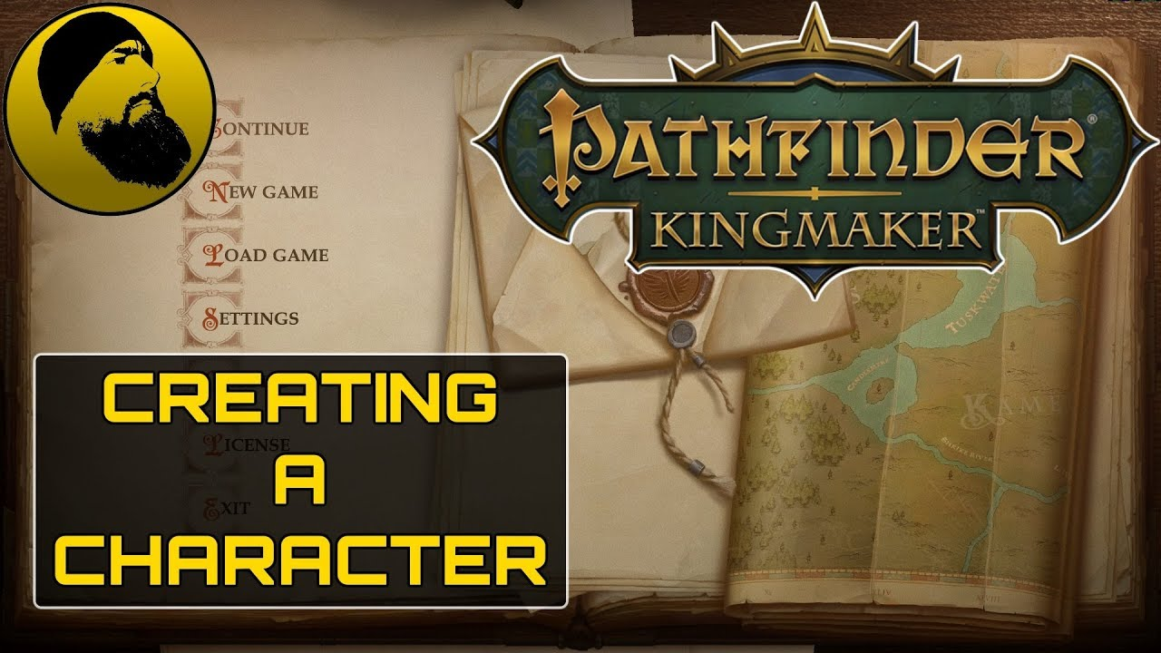 Pathfinder: Kingmaker - Character Creation
